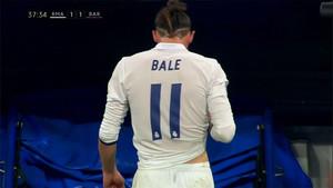 Gareth Bale, sustituido