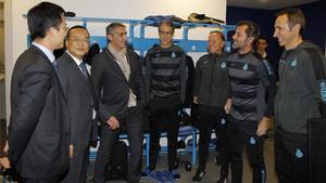 Chen y Quique tuvieron una cumbre en Sant Adrià