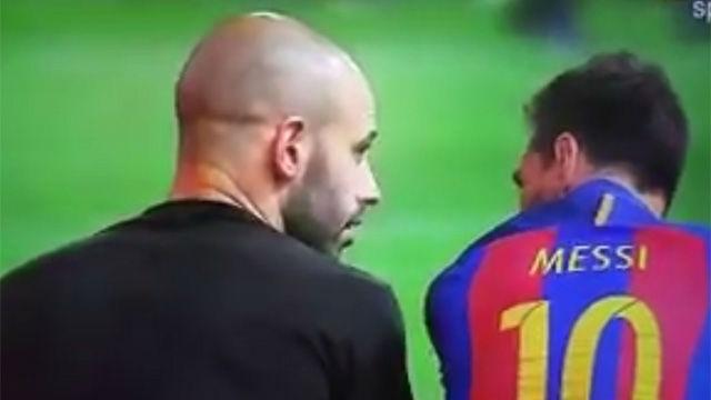La empatía de Messi con Mascherano
