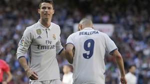 Cristiano Ronaldo y Benzema no han empezado on fire la temporada