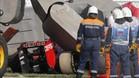 El accidente de Sainz en Sochi 2015