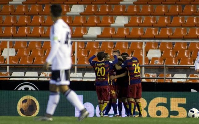 EL FC Barcelona pedir� el Bernab�u como sede de la final de Copa