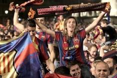 Cada vez hay más mujeres fans del Barça