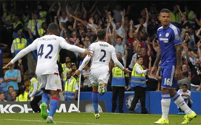 El Crystal Palace hunde al Chelsea de Mourinho
