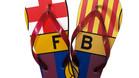 Consigue con SPORT las chanclas del FC Barcelona