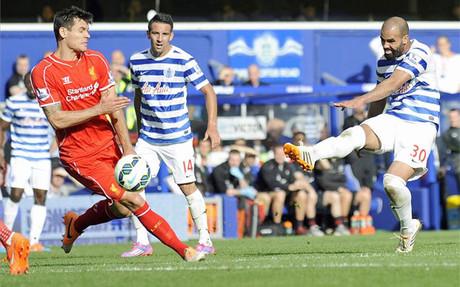 El Liverpool gan� por 2-3