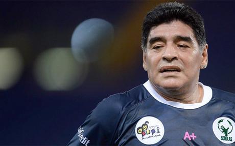 Maradona admite el da�o que las drogas le hicieron