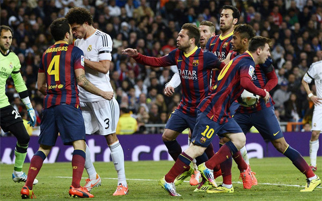 The picture that summed up El Clasico | 101 Great Goals