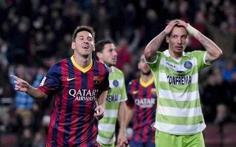 Messi fue el verdugo del Getafe