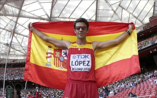 Miguel Angel L�pez, campe�n del mundo en Pekin 2015