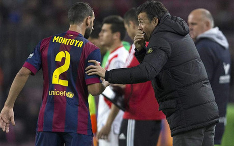 Montoya, dispuesto a irse del Bar�a