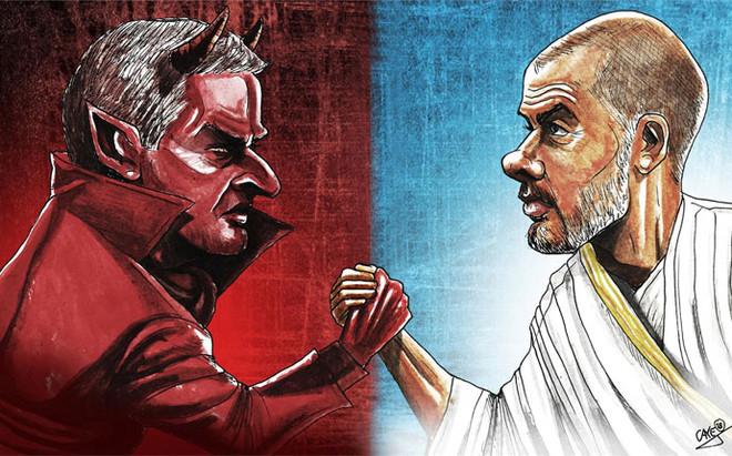 Mourinho y Guardiola, las dos caras del f�tbol, coincidir�n en la misma ciudad