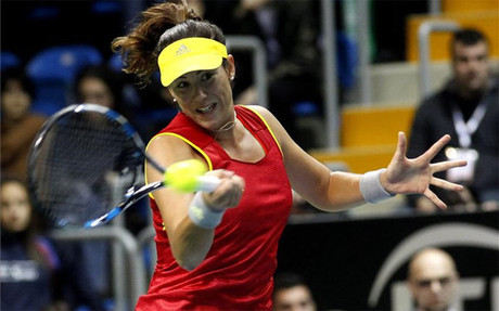 Muguruza no fall� ante Jankovic