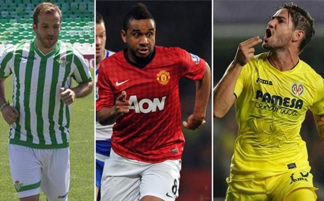 Van der Vaart dio pena en el Betis, Anderson fracas� en el United y Pato se reivindica en el Villarreal