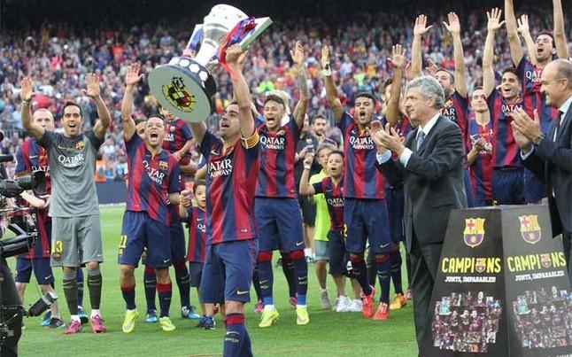 Xavi: 24 títulos con el FC Barcelona