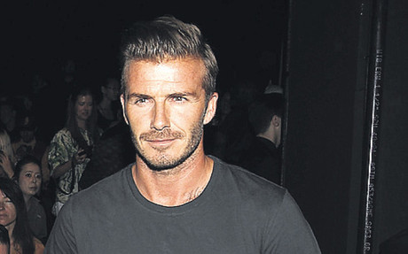 Beckham, ayer en Nueva York durante la \'New York Fashion Week\'