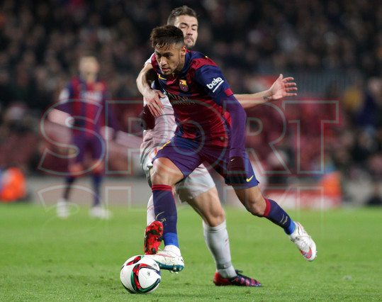 صور : مباراة برشلونة - أتليتيكو مدريد 1-0 ( 20-01-2015 )  1421883638436