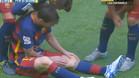 Messi se lesiona ante Las Palmas