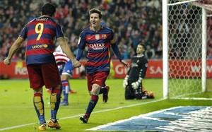 Suárez y Messi forman la dupla más goleadora de Europa