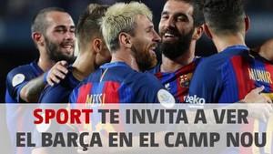 Sorteamos una entrada doble para el Camp Nou