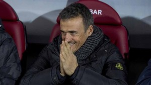 Luis Enrique Martínez, entrenador del FC Barcelona, siempre ha llevado al equipo a sumar más puntos en las segundas vueltas que en las primeras