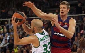 El Barça Lassa supo neutralizar a Calathes en el Palau Blaugrana