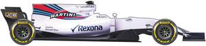 El equipo Williams para el Mundial de la F1 2017