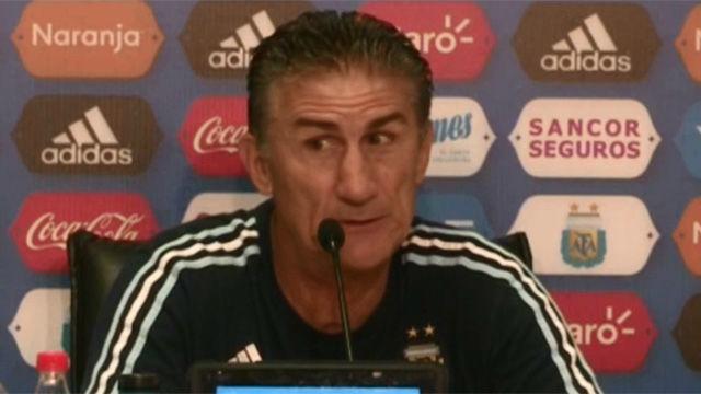 Bauza analiza los partidos de Messi con Argentina