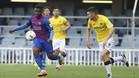 Kaptoum marcó el único gol del partido a los dos minutos