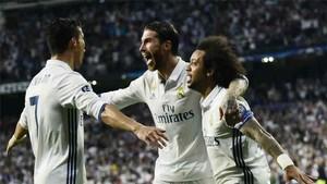 Los capitanes hablaron a la plantilla del Real Madrid