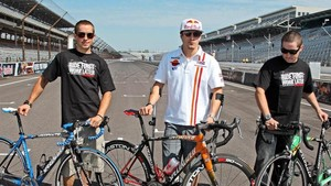 Hayden y sus hermanos, en un reportaje de 2010