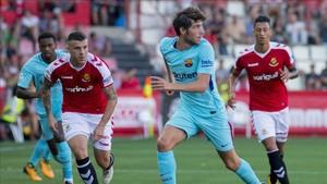 Sergi Roberto solo fue titular en el amistoso de Tarragona