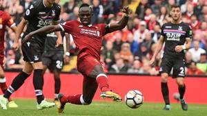Sadio Mané marcó así su decisivo gol