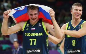 Doncic luchará por el oro con Eslovenia en el Eurobasket