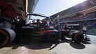 Alonso dio 22 vueltas con su McLaren