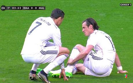 Bale puede perderse el clásico de la Champions