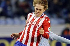 Halilovic ha crecido en las filas del Sporting