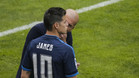 James Rodr�guez no aguanta m�s en el Real Madrid