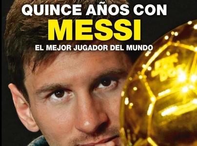 """""""Quince años con Messi"""", el libro de este Sant Jordi"""