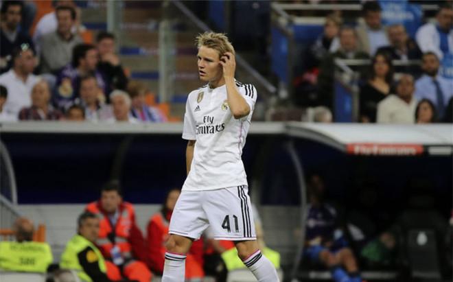 Odegaard, jugador del Real Madrid
