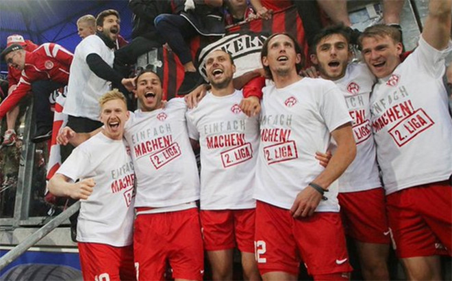 W�rzburger Kickers, el 'otro' RB Leipzig.