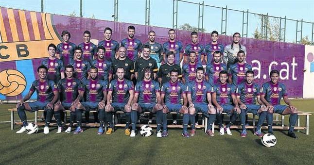 Los canteranos predominan en la actual plantilla barcelonista, a la que faltaría añadir a Alex Song, el último fichaje blaugrana FCBARCELONA