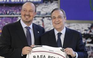 Florentino Pérez ha echado a Rafa Benítez siete meses y un día después de presentarlo