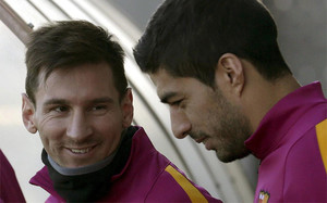 Messi y Suárez se han quedado en Barcelona
