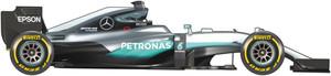 El coche de Mercedes para el Mundial de F1 de 2016