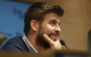 Piqué entiende que la rivalidad Barça-Madrid es sana
