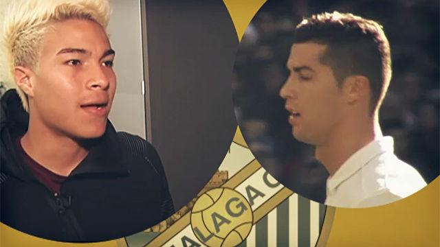 Peñaranda habló de Cristiano Ronaldo, Messi y Neymar