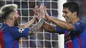 Messi y Suárez son grandes amigos dentro y fuera del campo