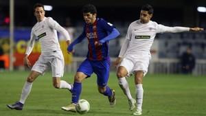 Carles Aleñá regresa al filial tras ir convocado con el primer equipo