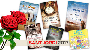 ¡Sorteamos 3 packs de 5 libros con motivo de Sant Jordi!